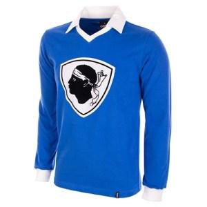 Bastia retro voetbalshirt 1977-1978