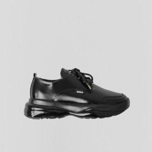 Bronx Sneaker Bubbly Sneaker Patent leather Black , Size 39