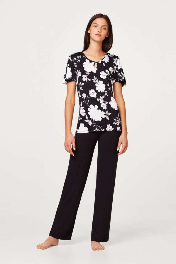 Bloemen pyjama voor dames van Esprit