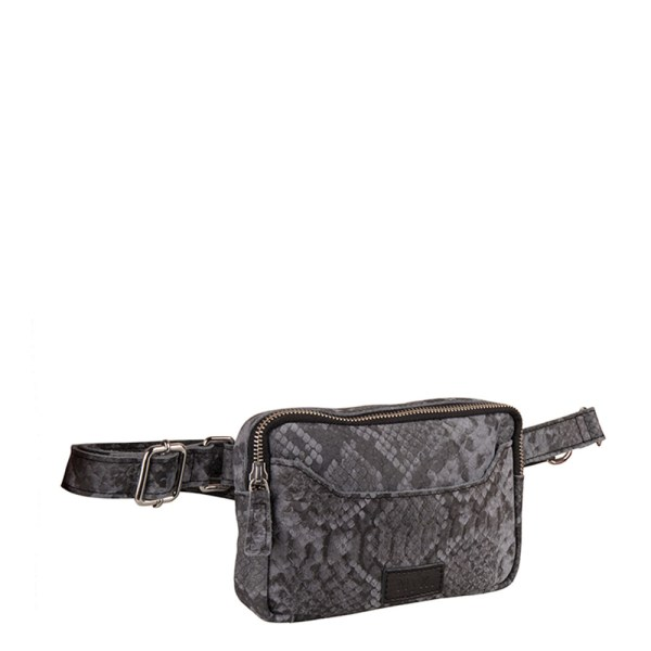 MyK Bag Valley Python Grey