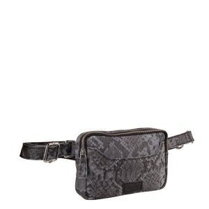 MyK Bag Valley Python Grey