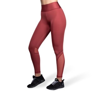 Sportlegging Dames Rood - Gorilla Wear Kaycee