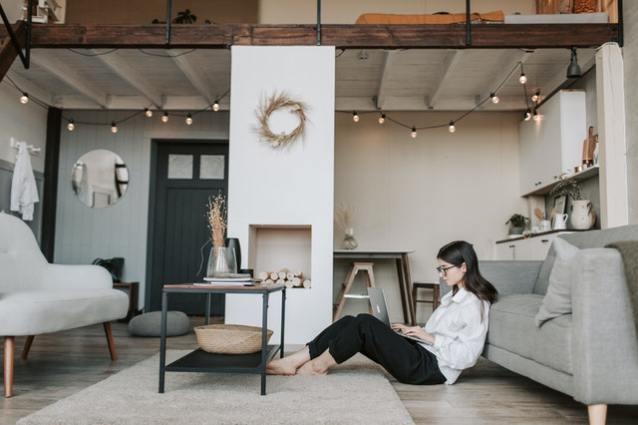 Comfortabel en stylish het thuiswerken door (2)