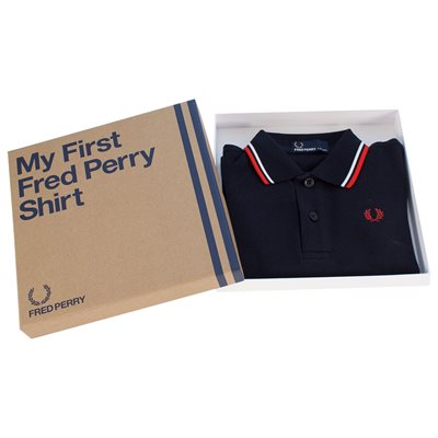 Fred Perry - Baby My First Fred Perry Polo Shirt - Navy