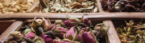 Rosen getrocknet Parfümherstellung