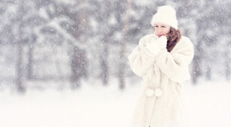 Winterlook Mütze Mantel