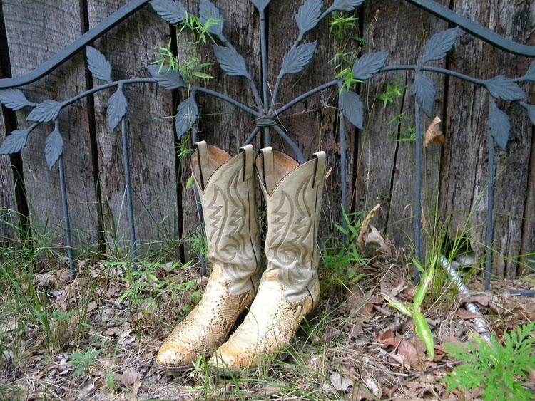 Cowboy Stiefel Leder