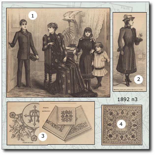mode illustree 1892