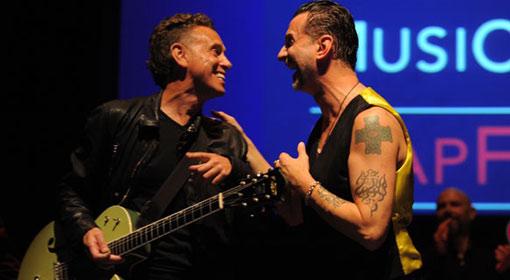 Dave Gahan + Martin Gore, Music Cares 2011