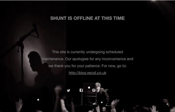 Shunt Website w przebudowie.