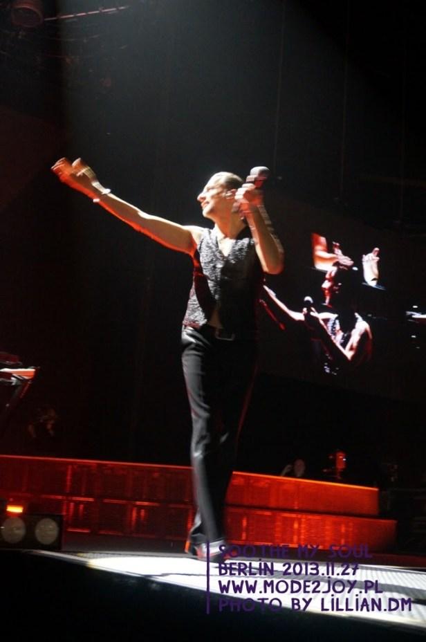 depeche MODE, Berlin Soothe My Soul - 2013.11.27 // na chwilę przed dekonspiracją...