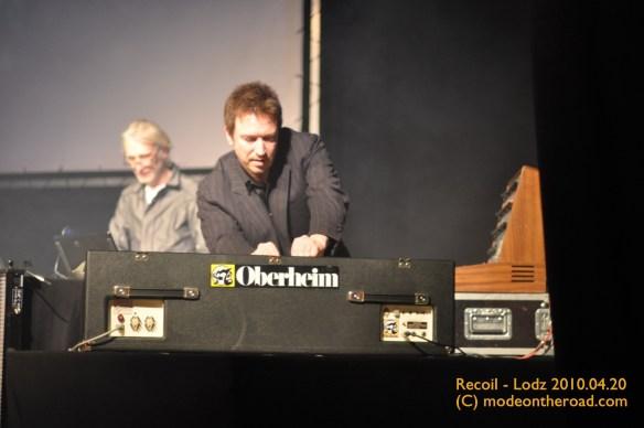 2010.04 Alan Wilder w Łodzi (C) Martini