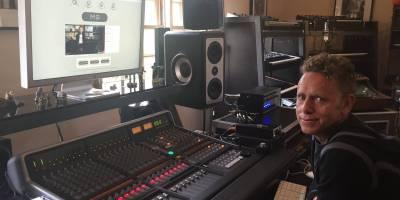 Martin Gore w Studio
