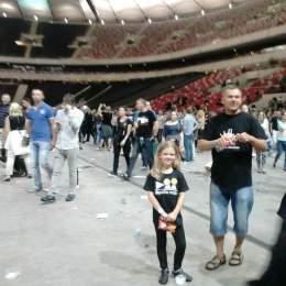 Kornelia z Tatą 2013.