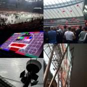 PGE Narodowy podczas koncertu depeche MODE 2017.