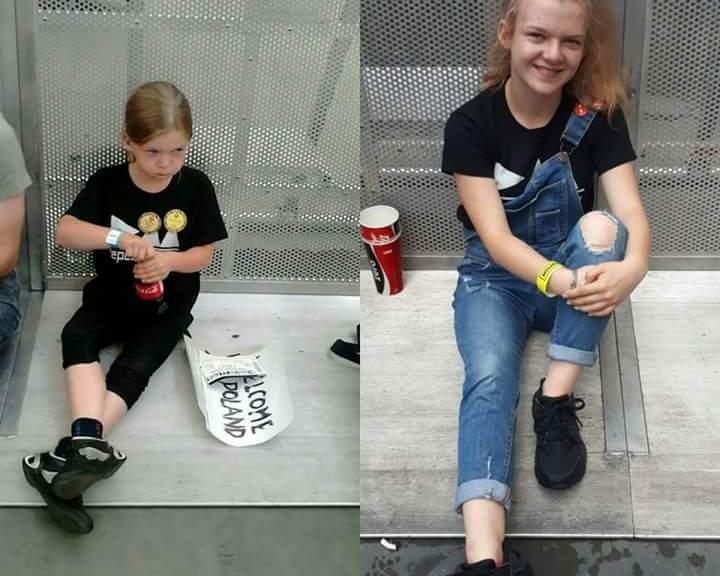 Kornelia w Warszawie 2013 i 2017.