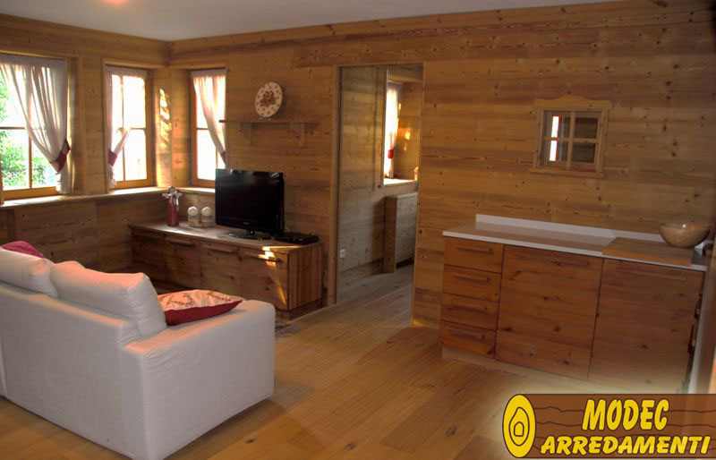 Controsoffitti e boiserie in legno MODEC ARREDAMENTI