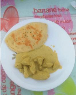 J'adore les repas Indien.