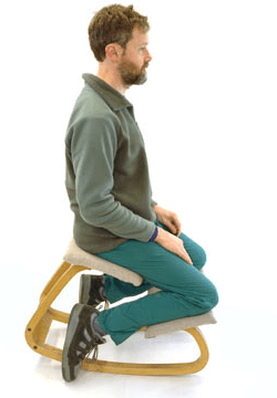 posture chair benefits joovy nook high kneeling chairs easy and effective ergonomics modeets c stool by tilting the pelvis forward your body s natural curvature is maintained such as if you were standing ll be able to sit comfortably