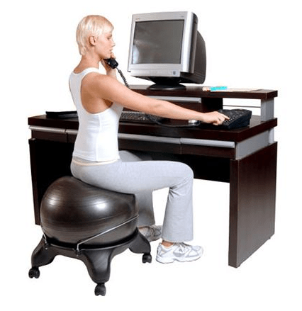 balancing ball office chair bistro chairs dining room yoga balance chairs: affordable egronomics | modeets©