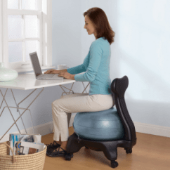 Yoga Ball Office Chair Swing Review Balance Chairs Affordable Egronomics Modeets C Fitness In The