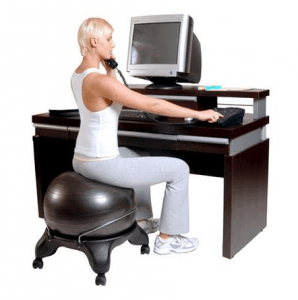 coccyx kneeling chair swivel vitra vs yoga ball which ergonomic solution is right for exercise