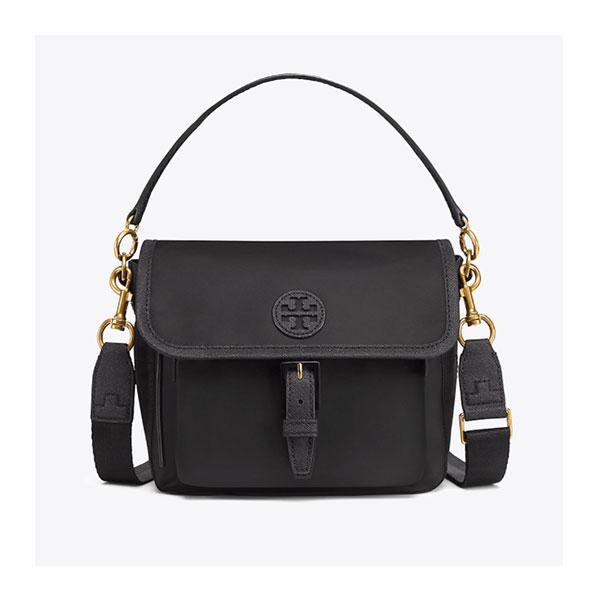 9dc4a7509709d Tory Burch – Scout Nylon Crossbody Bag – Black