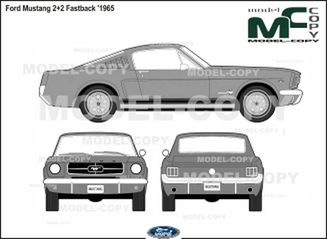 mustang 2 plus 2 2 door fastback pricing, specs and more! Ford Mustang 2 2 Fastback 1965 2d Drawing Blueprints 40446 Model Copy English
