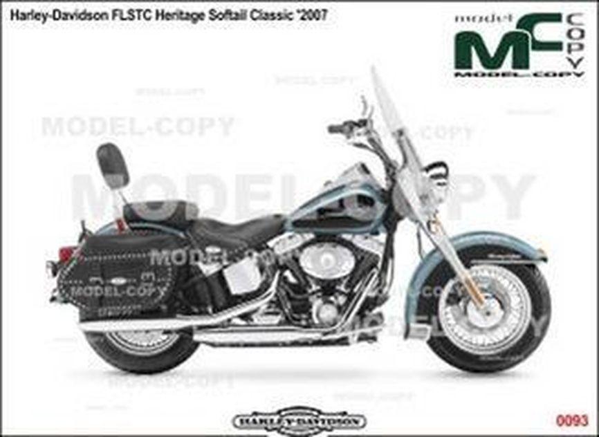 Harley-Davidson FLSTC Heritage Softail Classic '2007