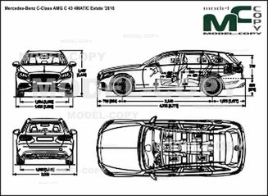 Mercedes-Benz C-Class AMG C 43 4MATIC Estate '2016