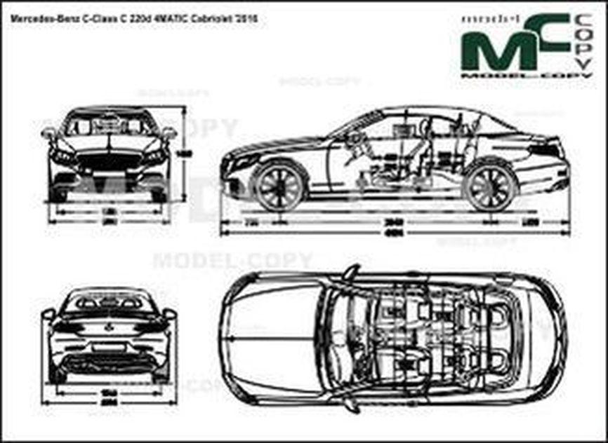 Mercedes-Benz C-Class C 220d 4MATIC Cabriolet '2016
