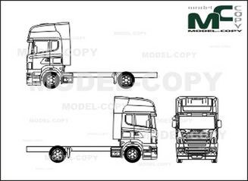 Scania series R, CR-19, Topline-driver's cab, 2axle (2004
