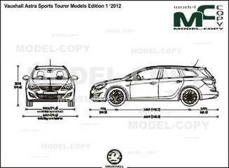 Vauxhall Astra Sports Tourer Models Edition 1 '2012