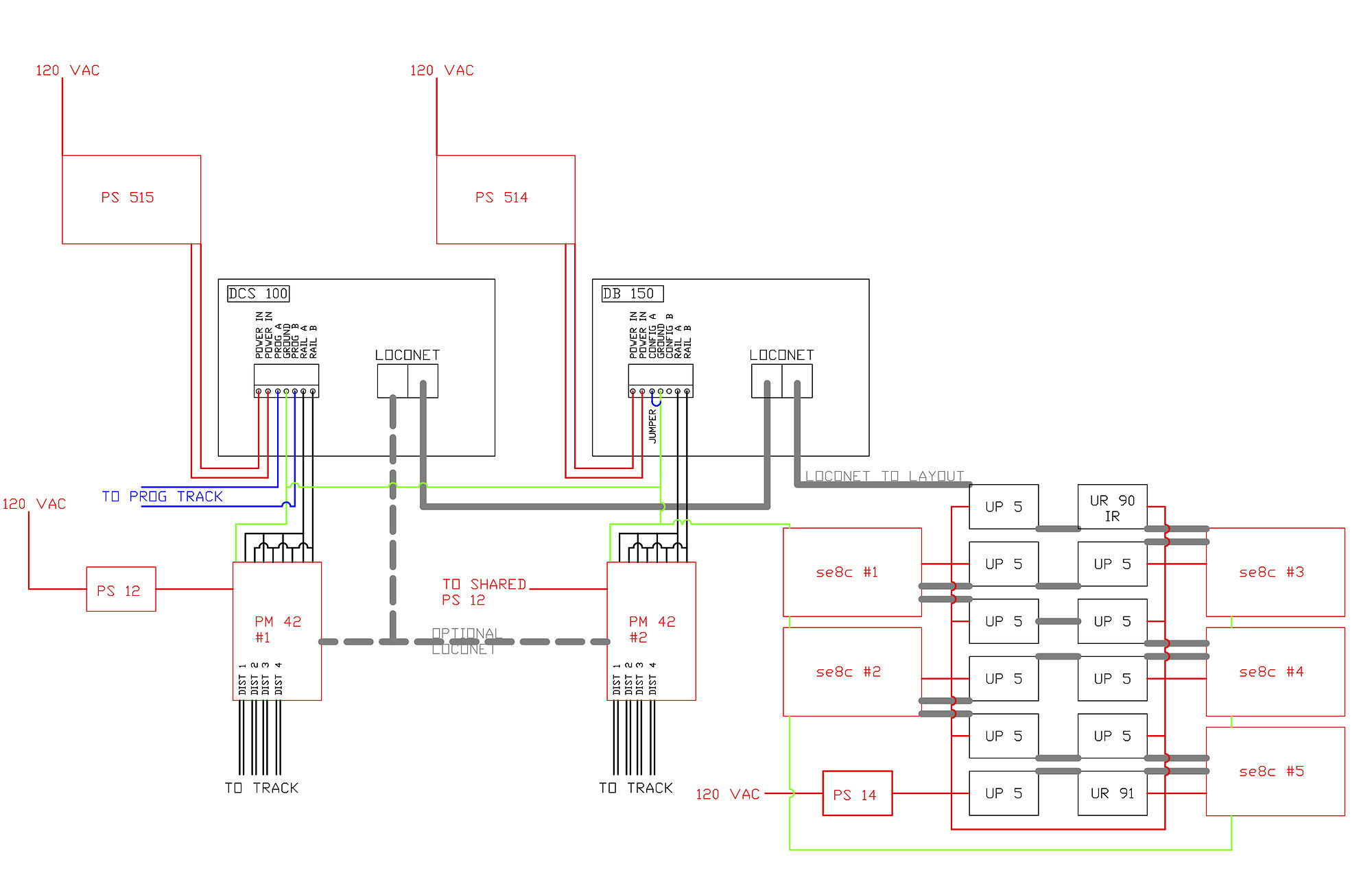 hight resolution of digitrax booster wiring diagram
