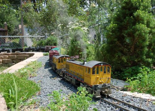 small resolution of what better way than my outdoor model railroad