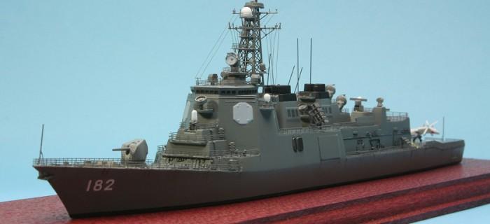 イージス護衛艦 みらい   プラモデル製作記