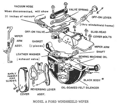 Trico Vacuum Windshield Wiper Diagram