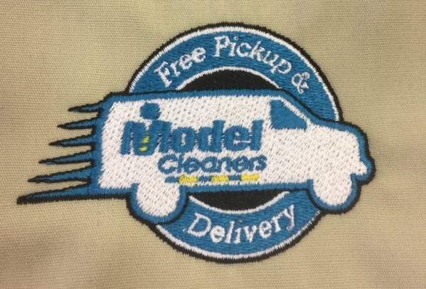 Direct Embroidery Examples Model Apparel
