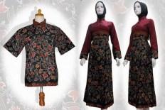 model baju batik gamis terbaru