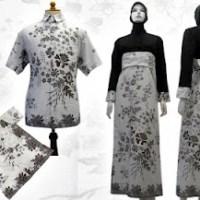 baju batik pekalongan muslim gamis