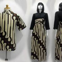 perkembangan batik pria wanita indonesia