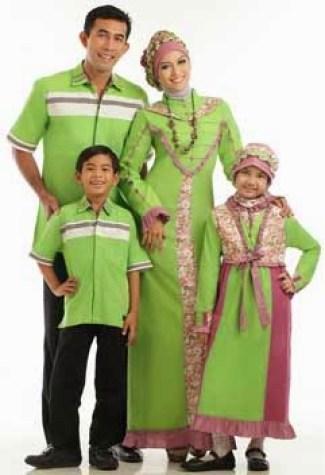 Model busana muslim keluarga eksklusif
