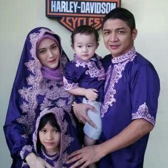 Model Baju Muslim Untuk Lebaran Keluarga Artis Terbaru