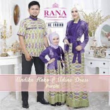 Model Baju Lebaran Couple Keluarga Plus Anak Terbaru