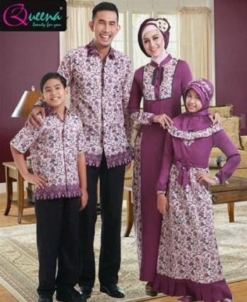 baju lebaran couple keluarga terbaru
