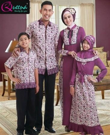 Desain baju Batik keluarga untuk Pesta pernikahan Modern