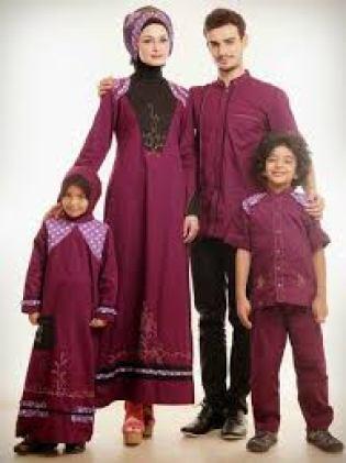 Baju Muslim Pasangan Suami Istri Anak Laki laki dan perempuan Terbaru