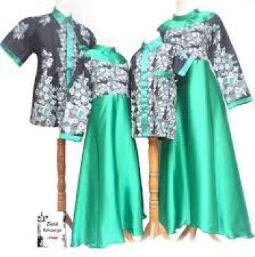 Model Baju Batik Lebaran Untuk Keluarga Terbaru