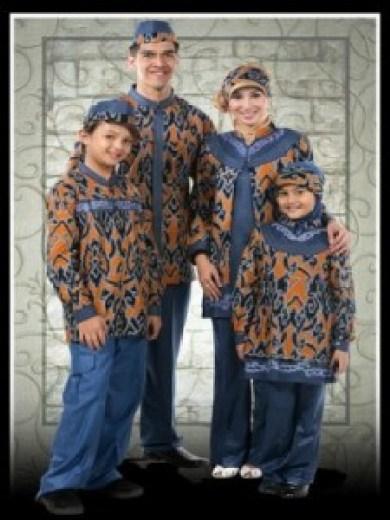 Baju Muslim Batik Sarimbit Keluarga Untuk Pesta Terbaru