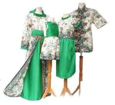 model baju batik kombinasi Kain polos seragam Kerja